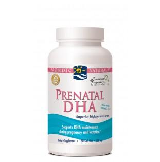 Nordic Naturals Prenatal DHA 180 Soft Gels